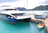 Car Rental Baie Sainte Anne Cat Cocos Ferry Port, Baie Sainte Anne (Praslin Island) - Seychelles