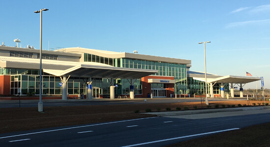 Albert J Ellis Airport
