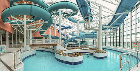 AquaZone at National Aquatic Center, an innovative water park