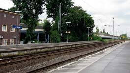 Benrath Train Station