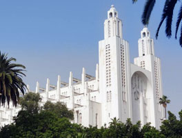 La cathédrale de Casablanca