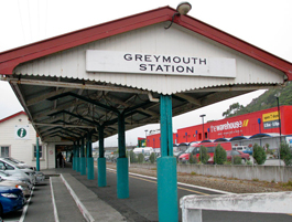 Greymouth Train Station
