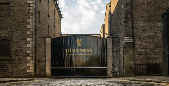 Guinness Storehouse at St James's Gate Brewery