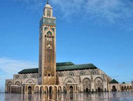 La mosquée d'Hassan II
