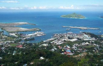 Mahe Port Victoria