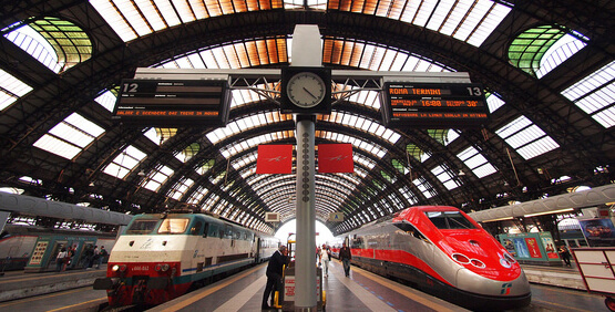 Milan Central Railway Station-