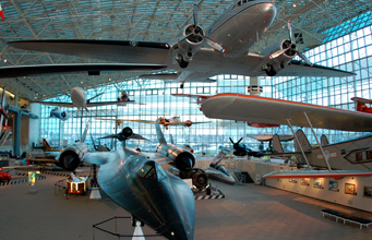 Le musée de l'aviation