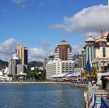Port Louis Downtown