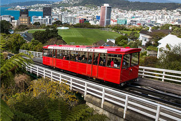 Scenic Cable Car Wellington